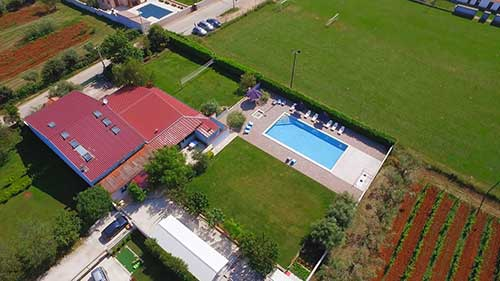 air view - Wanderlust Istra Hostel